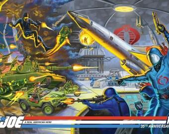G. I. Joe 35th Anniversary Mickey Mouse Variant Print