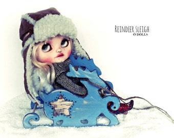 Reindeer sleigh for Blythe