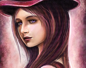 Caitlyn League of Legends Print - Free USA Shipping