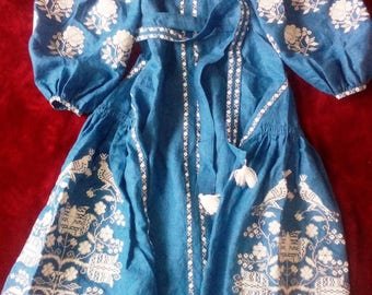 Ukrainian embroidery, embroidered dress, Bird, ANY COLOR, XS - 4XL, Ukraine
