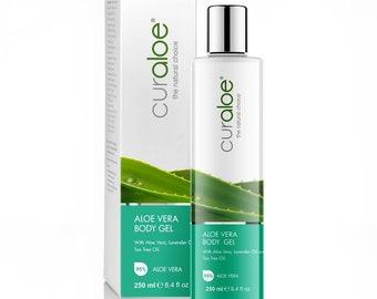 Aloe Vera Body Gel with 95% Organic Aloe Vera