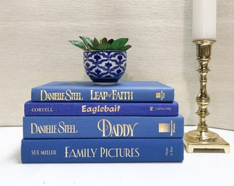 Blue Decorative Books