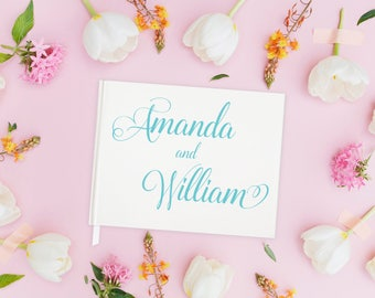 Unique Guest Book Wedding Personalized Wedding Guestbook Alternative, Wedding Guest Book Ideas for Wedding Guestbook Ideas, 15 COLORS