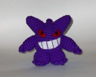 Gengar Crochet Plush