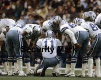 Dallas Cowboys Rare Art Danny White Dorsett only 50