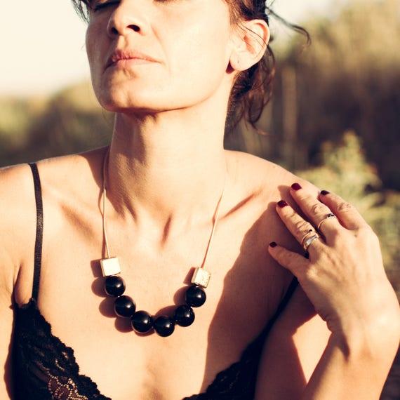 BLACK & BOLD Necklace