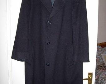 harrods cashmere/wool gents coat