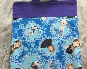 Frozen Library Bag