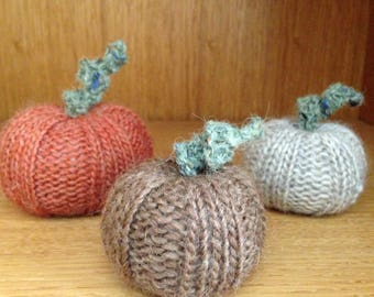 Pumpkin - DIY Knitting Pattern