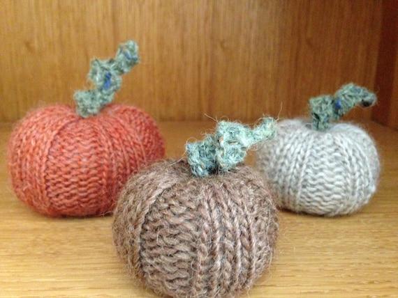 Pumpkin DIY Knitting Pattern