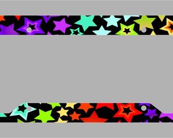 Fun Stars / License Plate Frame