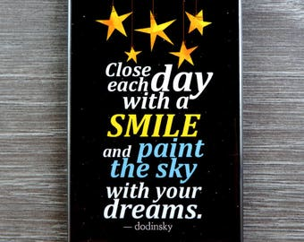 Paint The Sky With Your Dreams is a perfect gift and inspirational reminder to always live your life to the fullest, happiness is a choice.