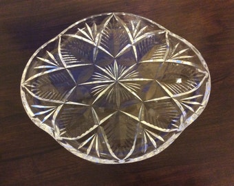 Vintage Glass Tray
