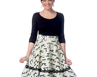 McCall's Sewing Pattern M7197 Misses' Skirts