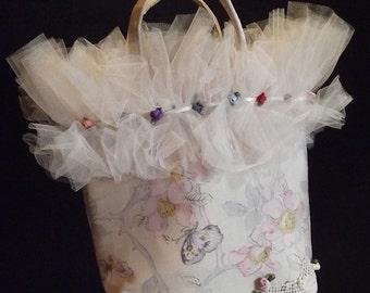 Antique Silk Glamour Bag