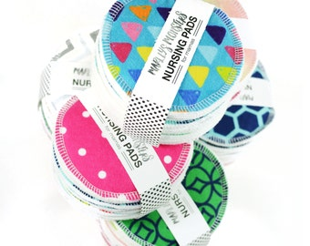 Reusable NURSING PADS. You choose prints.