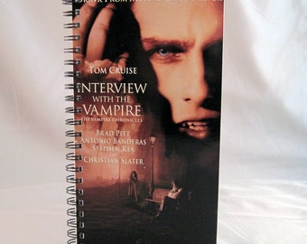 Interview with a Vampire Recycled VHS Case Notebook