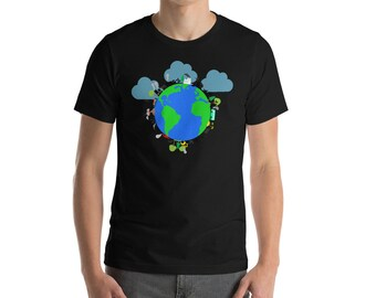Happy Earth Day 2018 T-shirt - Save the Earth and Trees T-shirt - EveryDay Earth Day T-shirt - Save the Nature and Ocean T-shirt