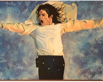 Michael Jackson Painting