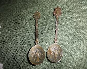 Spoons Miniature Embossed Design
