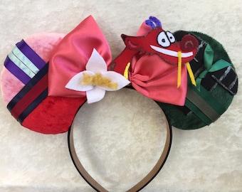 Mulan Inspired Mouse Ears