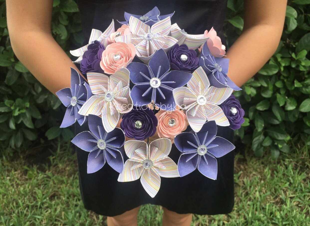Origami Bouquet Image Collections Handicraft Ideas Home Decorating