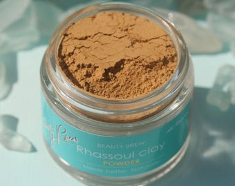 Beauty Brew Moroccan Red Rhassoul Clay Powder Face Mask