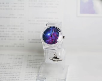 Starry sky,space watch,little star,Sky Full of Stars, Wrist watch, Women watch, Birthday gift, Special gift,