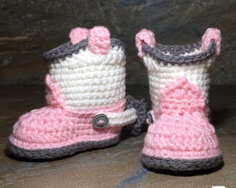 Baby Cowboy Booties Crochet Pattern/ Crochet Pattern Baby Cowboy Boots/ Cowboy Boots Crochet Pattern/ Crochet Pattern Baby Cowboy Booties