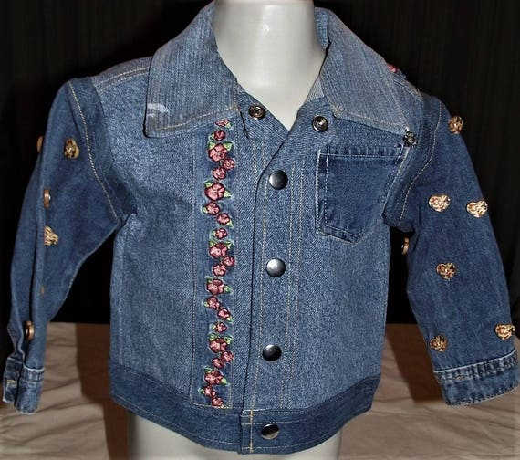 Refurbished Denim Infant Jacket, Size 18mo