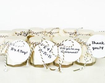 Wedding Favor Candles | Set of 50 Favors | Rustic Favors | Wedding Candle Favor | Custom Wedding Favor | Baby shower Favor | Custom Favors