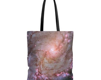 Galaxy Celestial Aop Tote Bag
