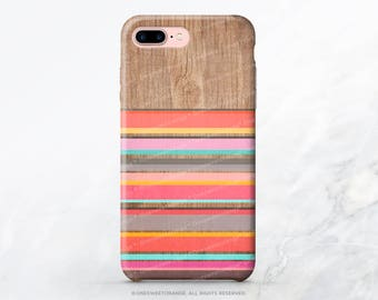 iPhone 8 Case iPhone X Case iPhone 7 Case Wood Stripes iPhone 7 Plus Case iPhone 6s Case iPhone SE Case Galaxy S7 Case Galaxy S8 Case I122
