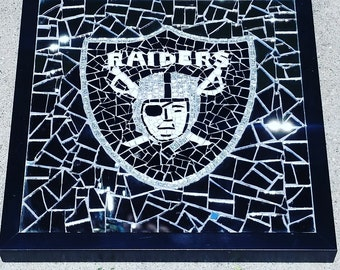 Raiders Mosaic Wall Art