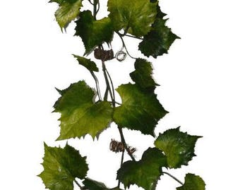"72"" Grape Leaves Garland"