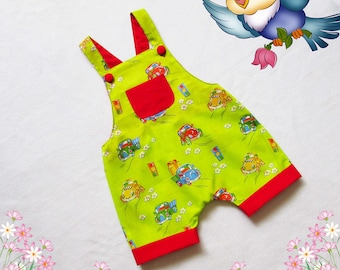 Overalls for baby and toddler,Romper for girl,boy,baby,easy to make overalls,children's sewing pattern to fit 3 months to 3 years.