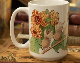 Witchy Henbane Coffee Mug - Wiccan Gifts For Kitchen Witches