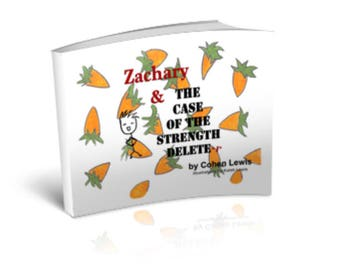 Softcover Zachary & The Case of the Strength Delete-R