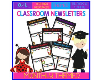 Monthly Themed Newsletters