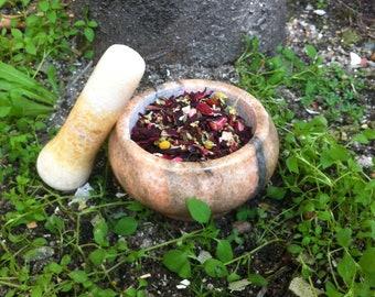 Vitalizing Loose Tea Blend, herbal, organic, dried, tisane