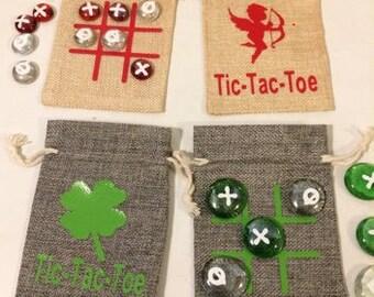 Tic tac toe sets