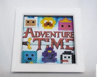 Adventure Time Hama Frame