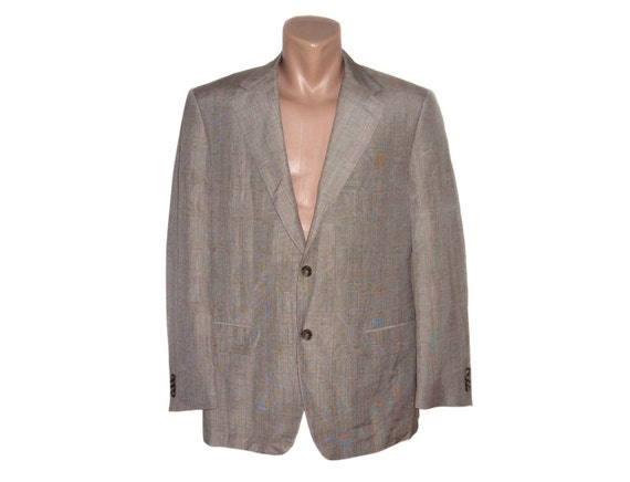 Corneliani Men Wool Blazer Sport coat Mens Vintage Formal blazer Suit blazer gents jacket Super 100s men Made in Italy Striped 0CL8Q