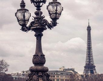 """Eiffel Tower Photo Print - Romantic Architecture - 6"""" x 4"""" Portrait - UK Seller"""