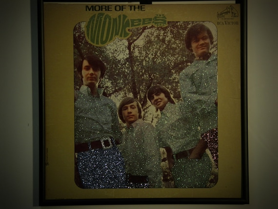 Glittered Record Album - More of the Monkees