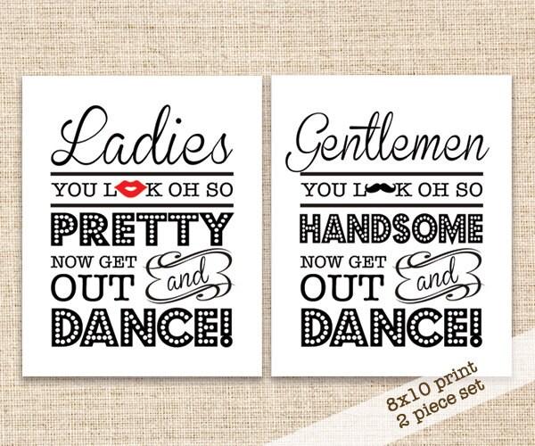 Bathroom Signs. 🔎zoom Bathroom Signs C