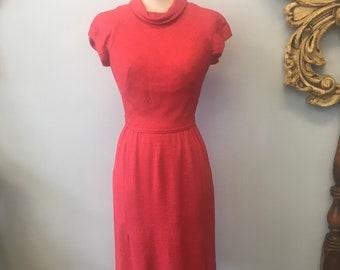 Vintage 1950's dress and jacket