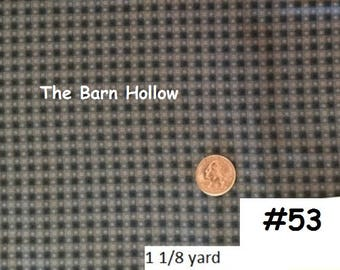 Blue check fabric (#53)