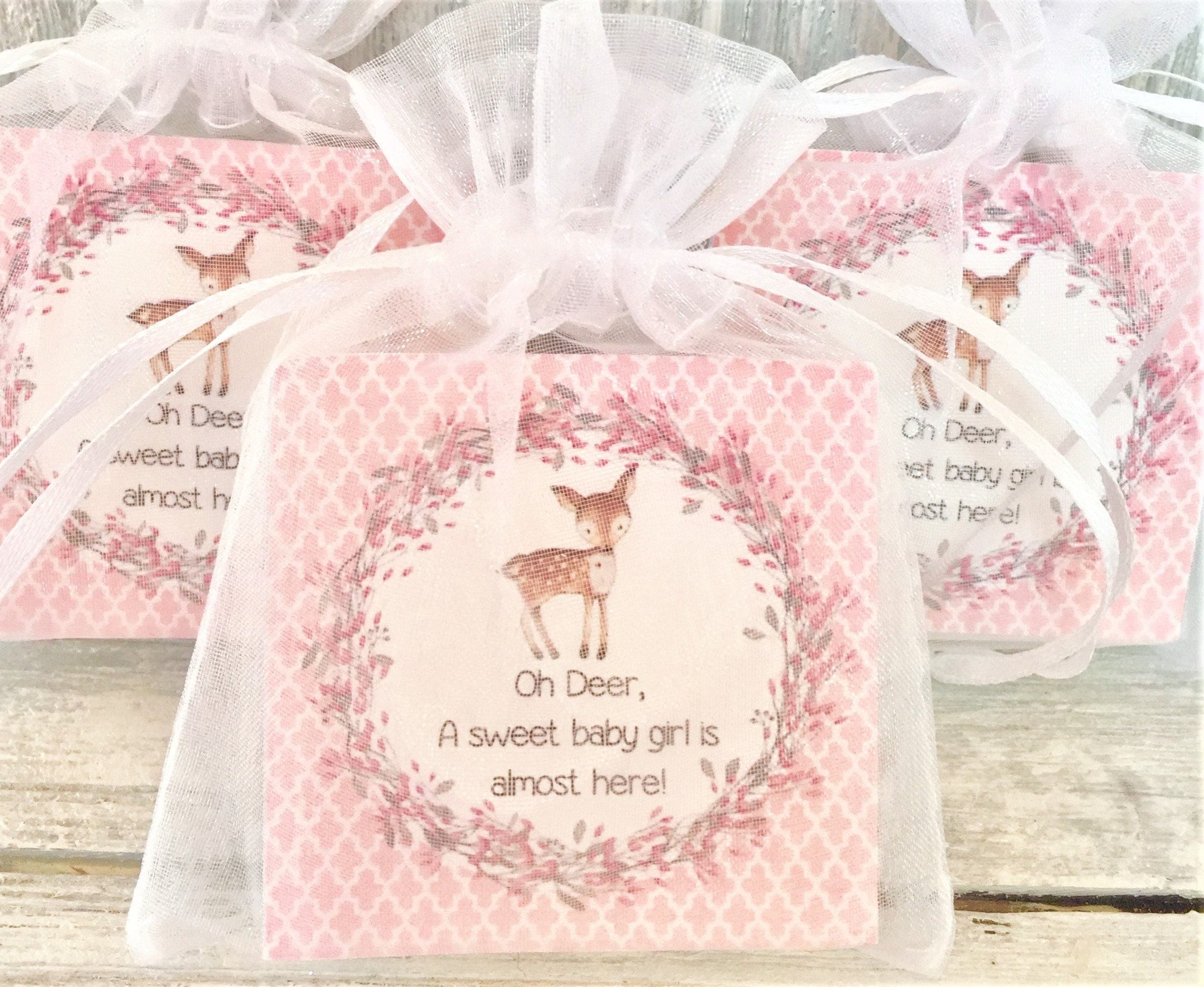 Woodland Soap Favors: Baby Shower Favors Birthday Favors