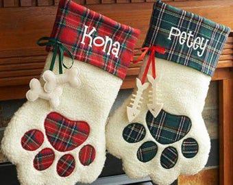 Personalized Paw Print Black